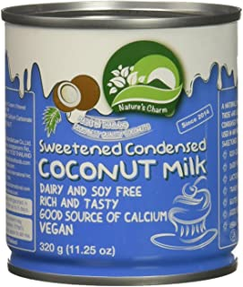 Natures Charm Sweetned Condensed Coconut Milk, 11.25 Ounce.
