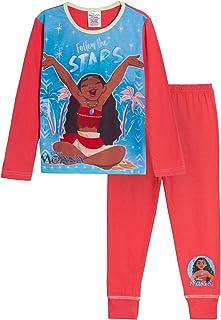Disney Pijama de Moana niñas, Conjunto de Pijama de Personajes de Longitud Completa