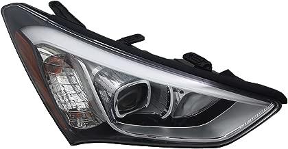 TYC 20-9379-00-1 Hyundai Santa Fe Right Replacement Head Lamp