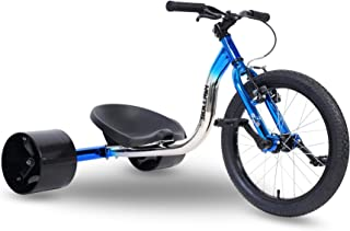 "Sullivan 18"" Jnr Big Wheel Drift Trike, for Ages 7-12 Years, Awesome Sliding Fun"
