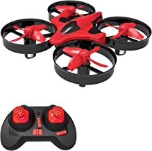 $24 » Portable Mini Drones for Kids, Remote Control RC Nano Quadcopter for Adults & Beginners RTF Toys Gift with 3D Flip, Headless Mode, One Key Return, LED Light for Boys and Girls, Red