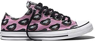 Chuck Taylor All Star Lo Top White/Black/Violet
