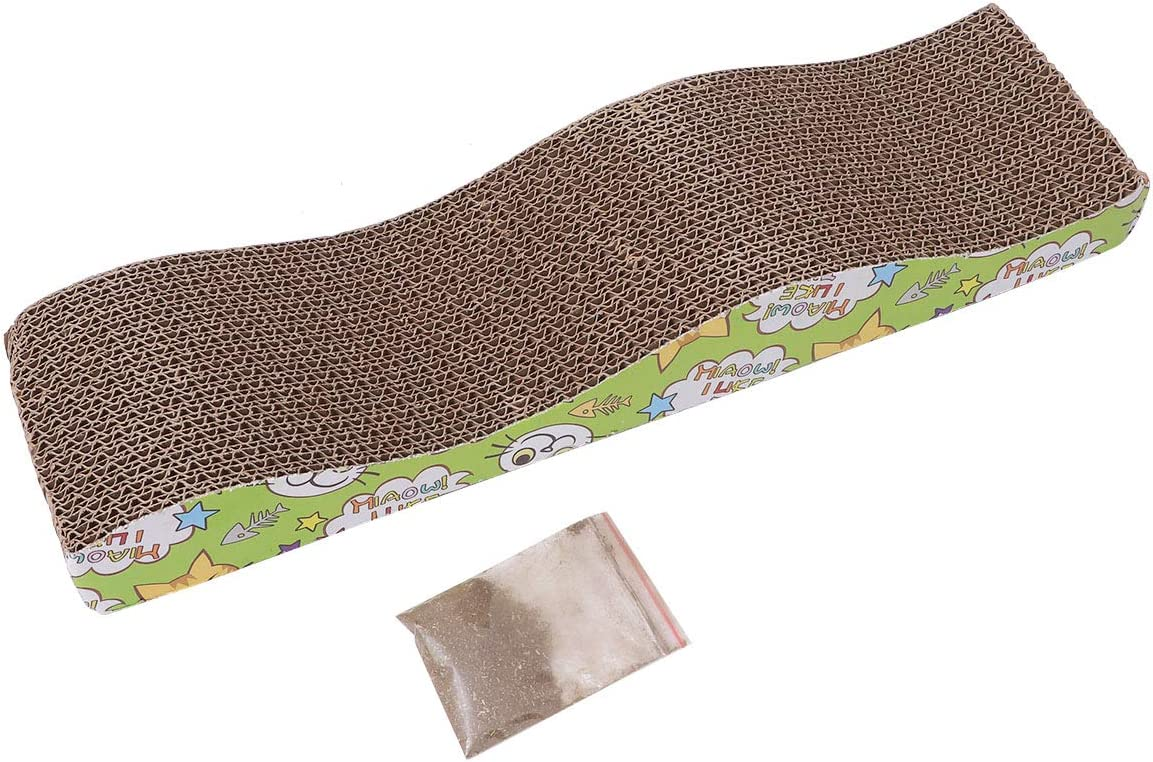 POPETPOP Cat Scratcher Cardboard New popularity for Puppy and Corrugated Cats Cheap mail order shopping