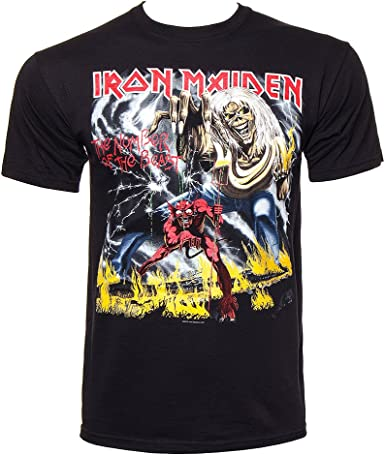 Iron Maiden - Camiseta - The Number Of The Beast