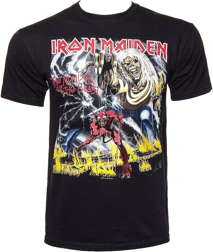 Iron Maiden – Camiseta El Número De La Bestia (en XXL ...