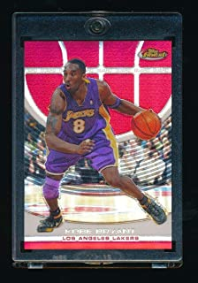 KOBE BRYANT 2005-06 FINEST REFRACTOR RED #33 059/169 *LOS ANGELES LAKERS*