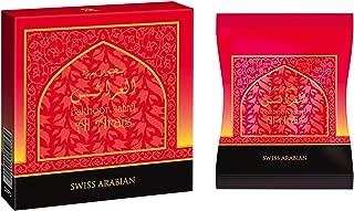 Sahret Al Arais Bakhoor Incense 40g | Home Use with Electric/Charcoal Burner (Mabkhara) | Traditional & Long Lasting Middle East Quality Organic Resin | by Swiss Arabian Oudh Perfume & Attar, Dubai