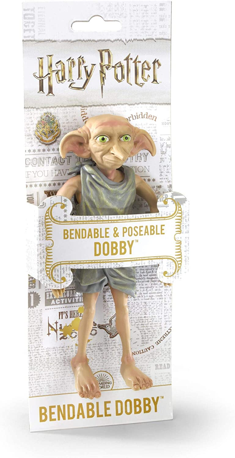 Noble Collection- Harry Potter Figura Dobby, Multicolor (NN7365)