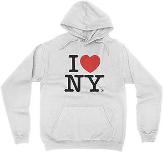 new york hoodie white