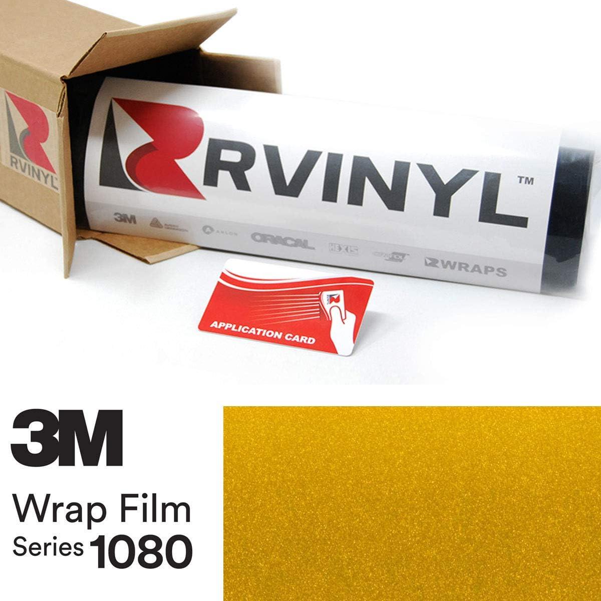3M 1080 G335 Gloss Spasm price Lemon Sting 5ft Excellent 26ft Vin Card x W Application