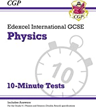 New Grade 9-1 Edexcel International GCSE Physics: 10-Minute Tests (with answers) (CGP IGCSE 9-1 Revision)