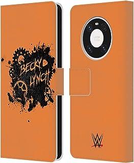 オフィシャル WWE Becky Lynch Relent-lass スーパースター 9 Huawei Mate 40 Pro 5G 専用レザーブックウォレット カバーケース