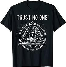 Illuminati Clothing Trust No One Shirt All Seeing Eye