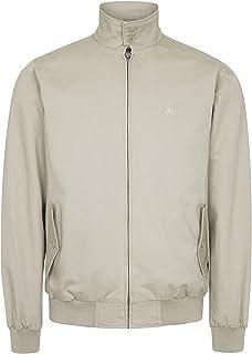 merc Mens London Retro Mod Harrington Jacket - Beige
