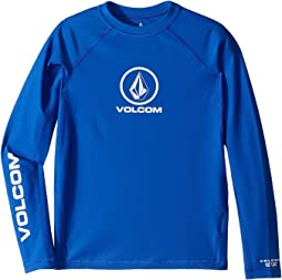 Lido Solid Long Sleeve Rashguard (Little Kids/Big Kids)