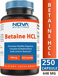 thompson betaine hcl 90 tablets