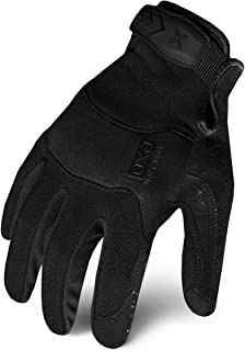 Ironclad EXOT-PBLK-03-M Tactical Operator Pro Glove, Stealth Black, Medium
