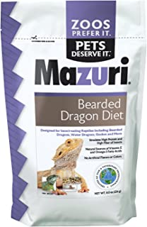 mazuri bearded dragon food
