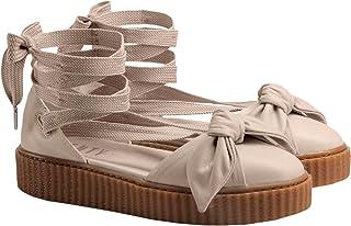 18c1294c113e10 PUMA Bow Creeper Sandal Pink Tint-Pink Tint-Oatmeal - 40