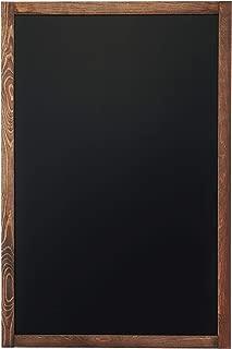 Chalkboard | Magnetic, Non-Porous | Framed Chalkboard | Vintage Decor | Chalk Board for Wedding Kitchen Bar Restaurant Menu, Home | Chalkboard Sign | 24 x 36 inches | Wall Mounted Chalkboard | Large