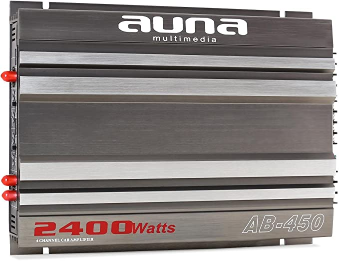 Auna Ab 450 Auto Endstufe 4 Kanal Verstärker Car Hifi Elektronik