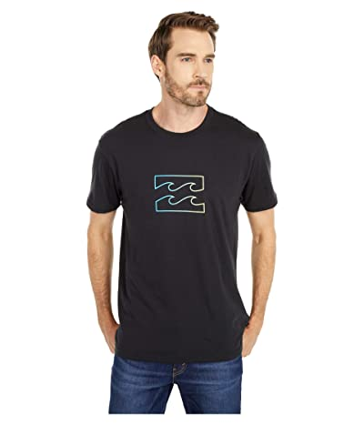 Billabong Team Wave Short Sleeve Tee (Black) Men