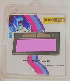 "USA seller Proline Products DIN#11 Size 4-1/4"" X 2"" Auto Darkening Welding Helmet Mask Hood Lens Filter"