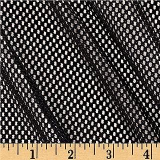 Telio 0395289 Mod Stretch Mesh Black Fabric by the Yard