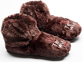 Warming Slippers - Microwave Toes and Feet Warmers Cordless (Cozy Toasty Warming Socks- Relaxation, Natural Heat, Massagin...
