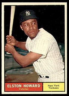 1961 Topps #495 Elston Howard Excellent Yankees