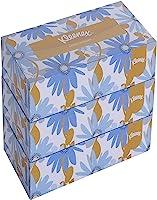 Kleenex® Facial Tissue Box 60038 - 2 Ply Flat Box Facial Tissue - 3 Tissue Boxes X 200 Face Tissues - Sheet Size 21 X 21...