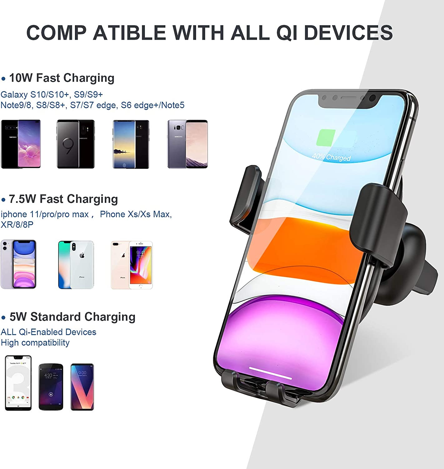 Motors Chargers thegymyarraville.com.au S9/S9+/Note 8 Wireless Car ...