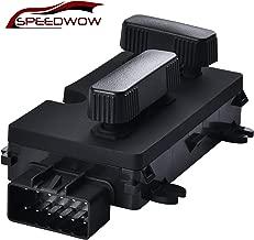 SPEEDWOW Driver Side Power Seat Adjuster Recline Switch 12450166 for 1999-2007 Cadillac Escalade Chevy Avalanche Silverado Suburban Tahoe GMC Sierra Yukon Hummer H2