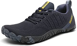 Mens Barefoot Shoes Athletic Trail Running Shoes Womens Outdoor Walking Shoes for Hiking Cross Training