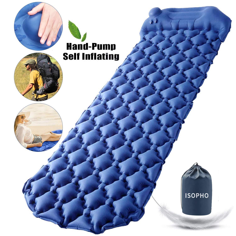 ISOPHO Inflatable Waterproof Backpacking Traveling