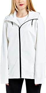 GG Golooper Womens Rain Jacket Lightweight Waterproof Hooded Raincoat