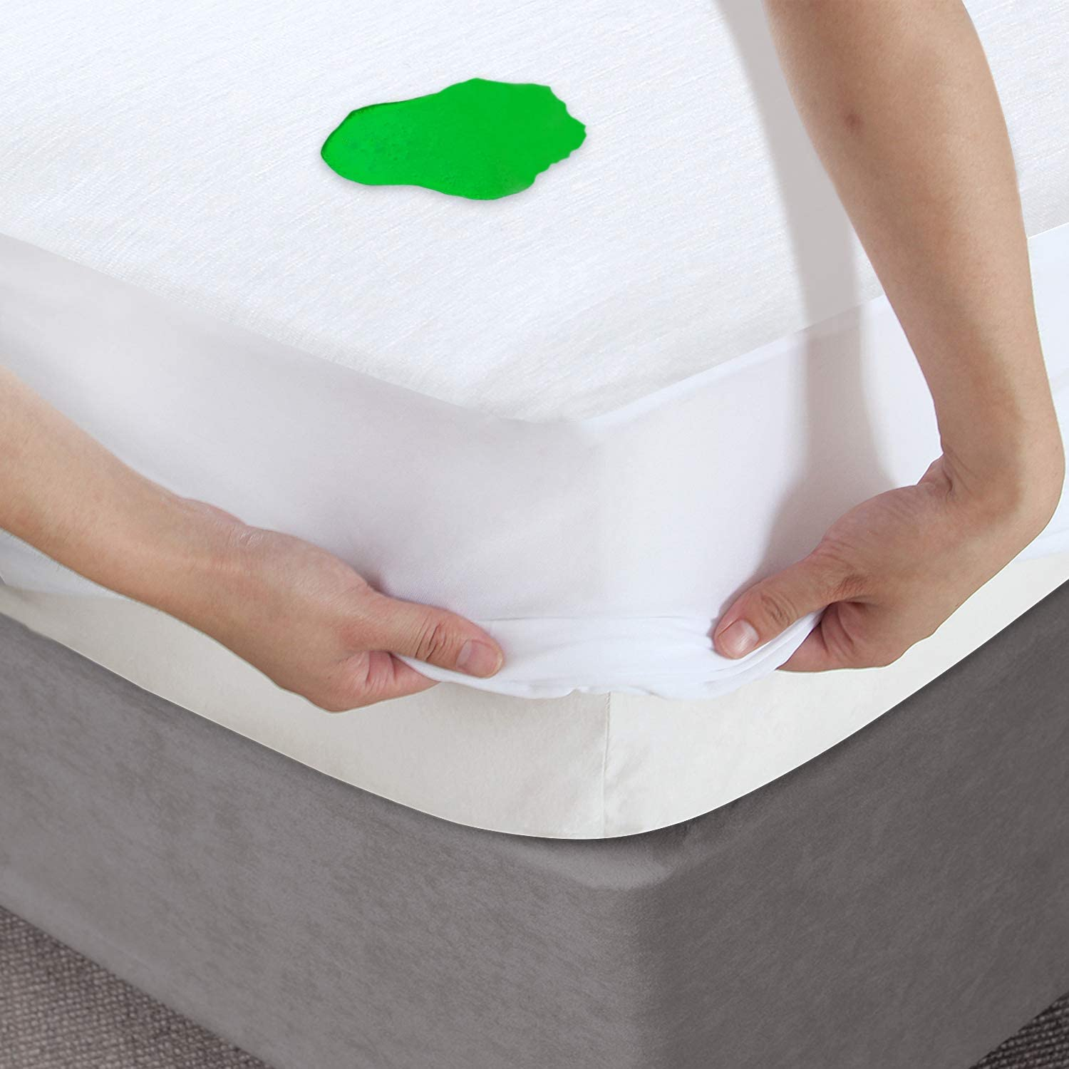 Full Animer and price revision Mattress Protector Challenge the lowest price of Japan Waterproof Bamboo Jersery Prote