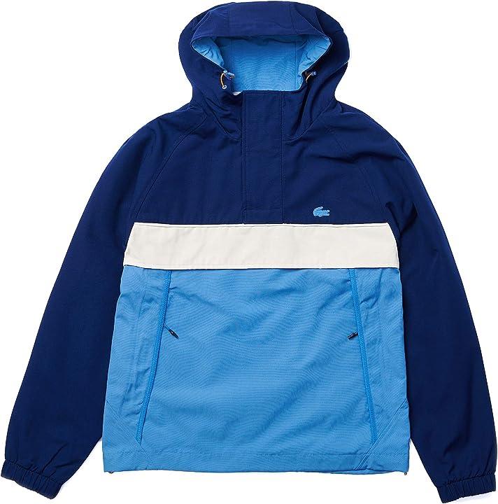 Giubbotto a vento uomo lacoste giacca da uomo BH0263