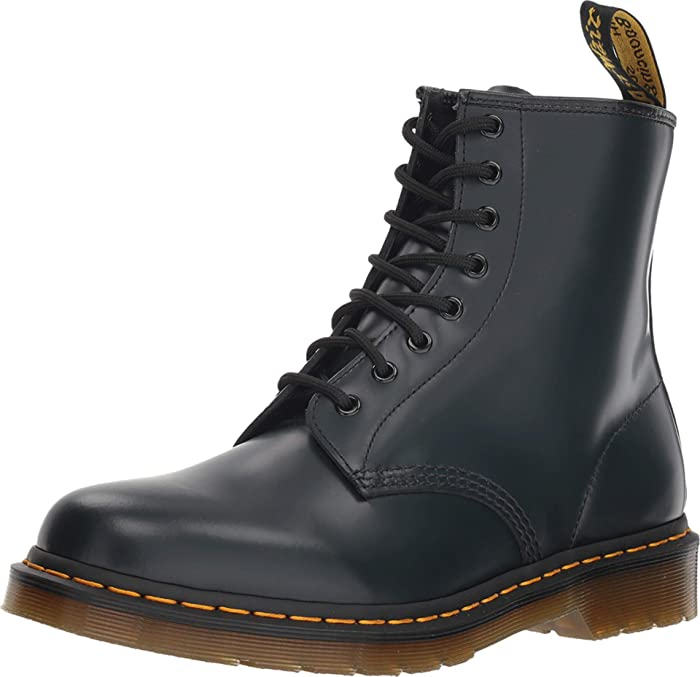 100%] Dr.Martens Original 8 eye Boot NAVY 1460 smooth