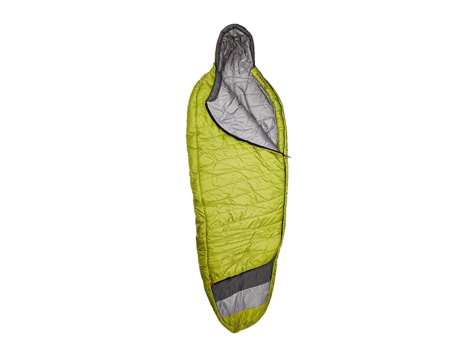 Kelty Tuck 20 Degree Thermapro Ultra Long Left Handed Zippers (Spinach/Castle Rock) Outdoor Sports Equipment