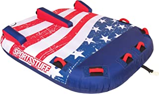 Sportsstuff Stars & Stripes | Towable Tube for Boating with 1-4 Rider Options