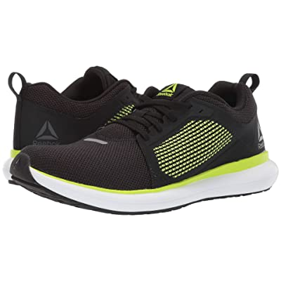 Reebok Driftium Ride (Black/Neon Lime/White/True Grey 7R) Men