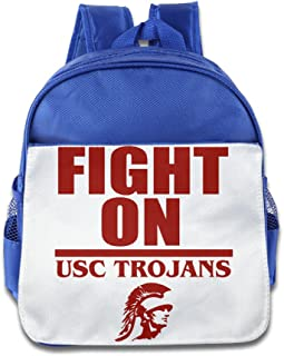 HYRONE Usc Trojans Football Boys And Girls Shoulders Bag For 1-6 Years Old RoyalBlue