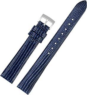 Montre-bracelet en cuir Quick Release montre avec bracelet en cuir avec boucle en acier inoxydable
