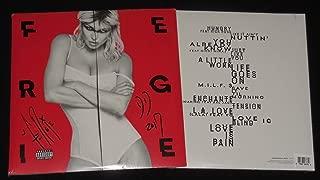 fergie autographed vinyl