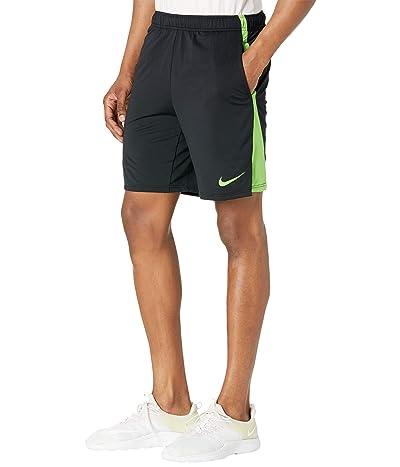Nike Dry Shorts Hybrid 2.0 (Black/Mean Green/Mean Green) Men