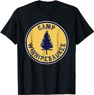 Camp Winnipesaukee Shirt Retro Summer Camp T-Shirt