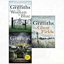 Dr ruth galloway mysteries (7-9) ghost fields, woman in blue, chalk pit 3 books collection set