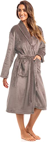 high quality Thread new arrival Republic Spa Collection Plush Fleece Robe, Luxurious lowest Warm & Cozy Bathrobe outlet online sale