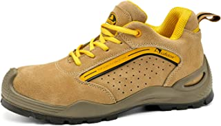 Zapatos de Seguridad Deportivos para Hombres - 7296Y Calzados de Seguridad Trabajo S1P con Puntera de Acero